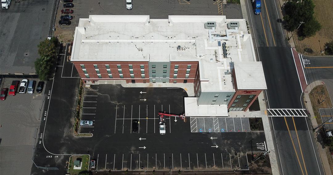 Commercial Hampton Inn