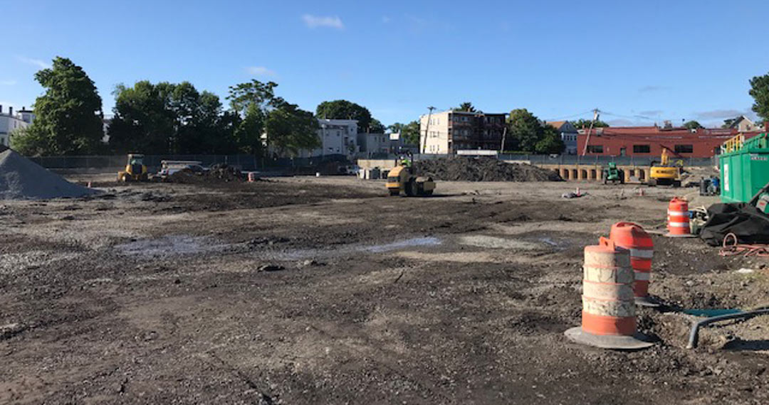 East Boston commercial project